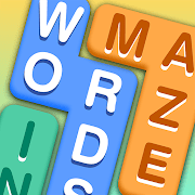 Solution words in maze
